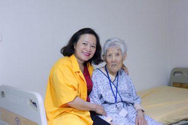 bệnh nhân trên 100 tuổi